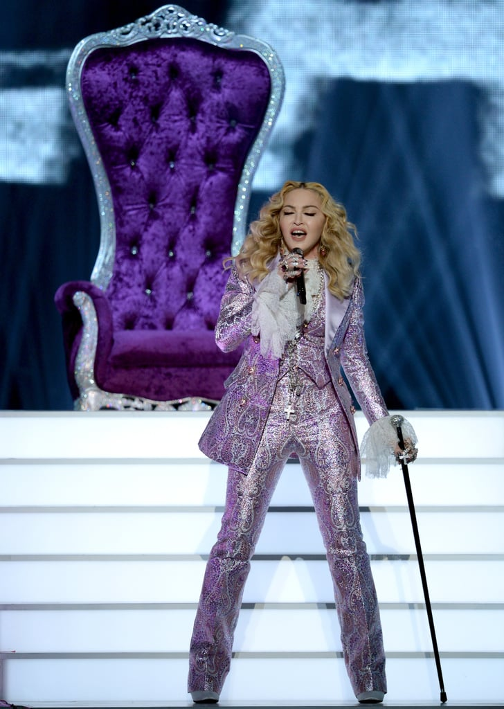 Madonna's Purple Suit at Billboard Music Awards 2016