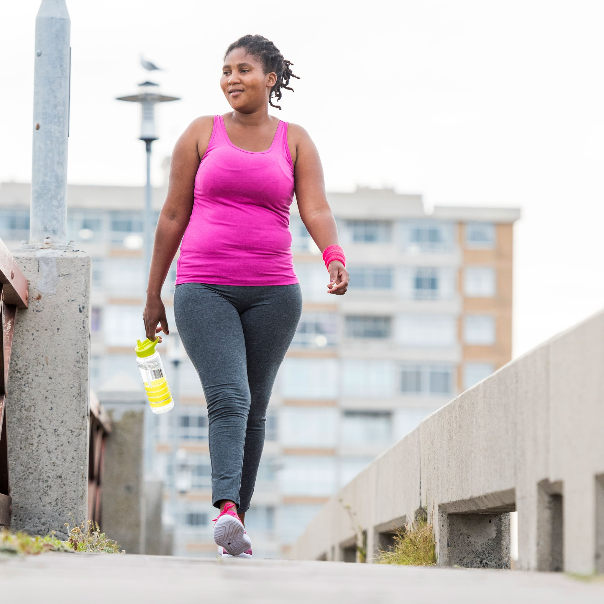 how much should i walk to lose weight fast