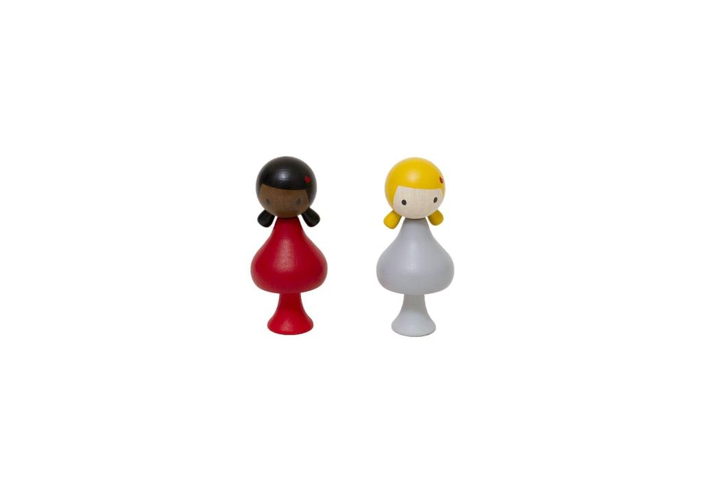 Clicques Heart Girls Peg Dolls