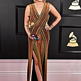 Paris Jackson's Balmain Jumpsuit at the Grammy Awards