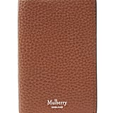 Mulberry Grain Leather Card Wallet (£105)
