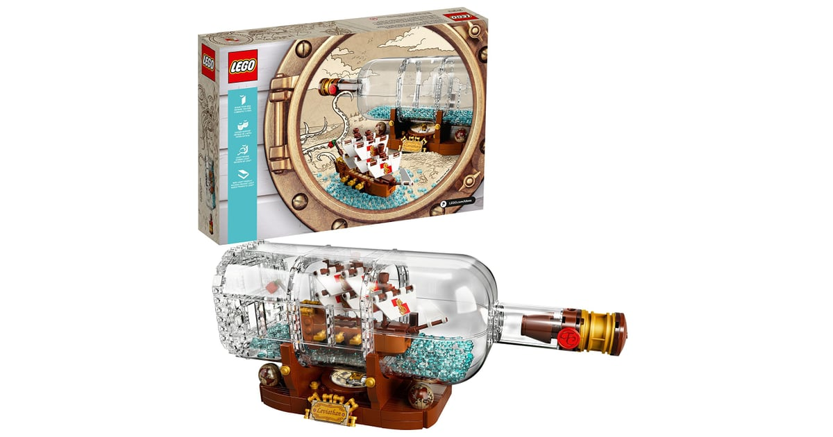lego ideas ship in a bottle best toys on amazon 2018. Black Bedroom Furniture Sets. Home Design Ideas