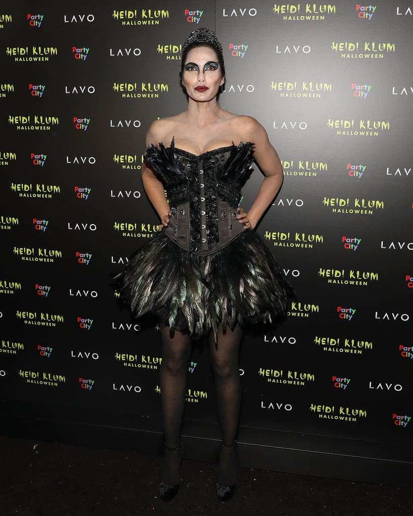 Padma Lakshmi as The Black Swan