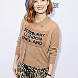 Jessica Chastain With Asymmetrical Lob in 2019