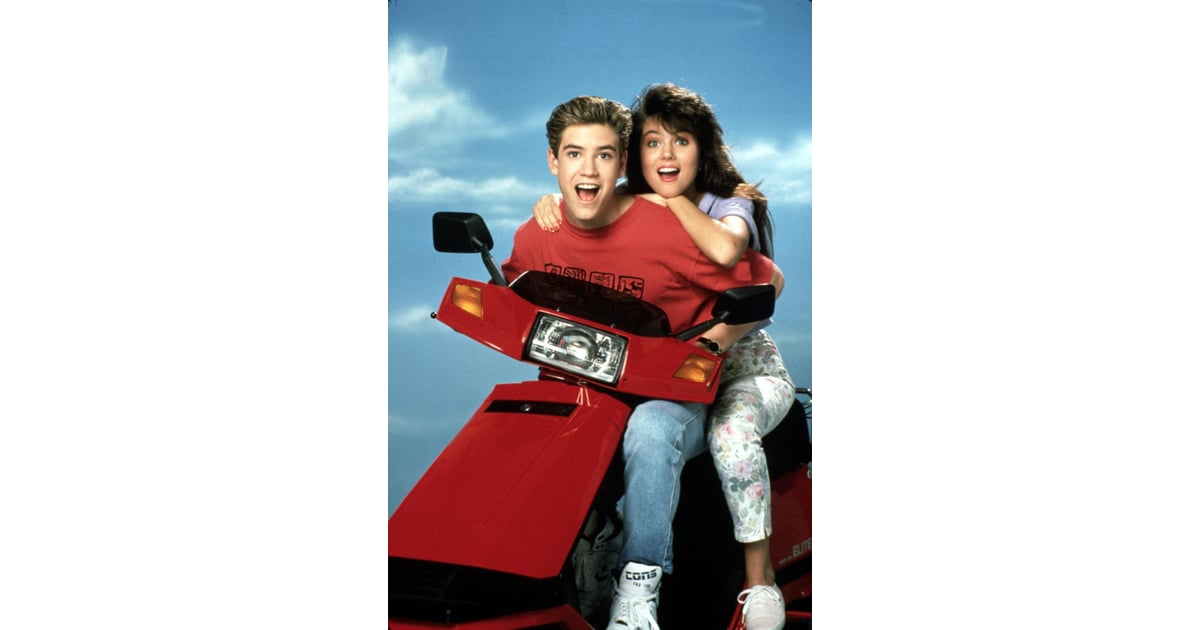 Zack Morris and Kelly Kapowski From Saved by the Bell: The ...