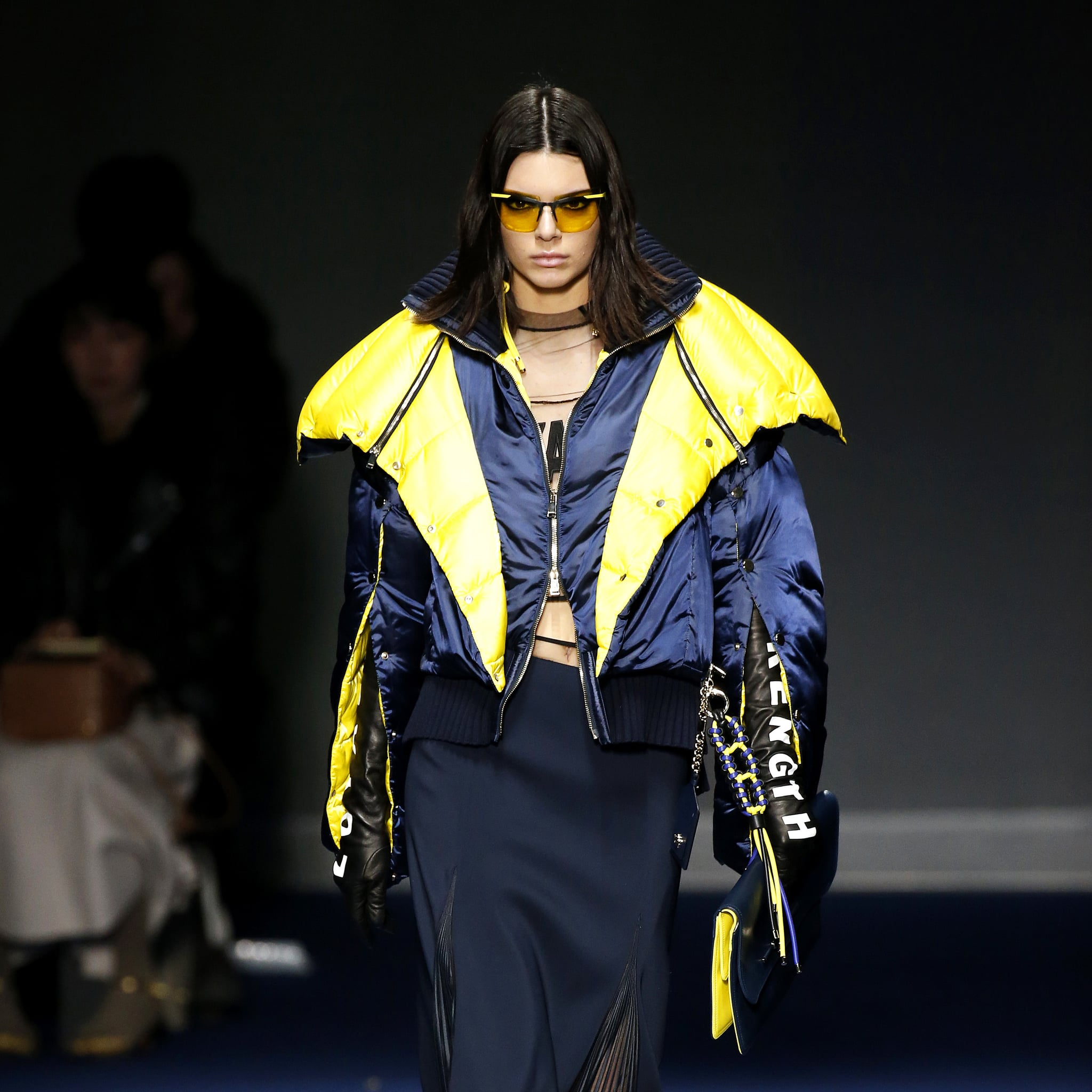 Kendall jenners runway