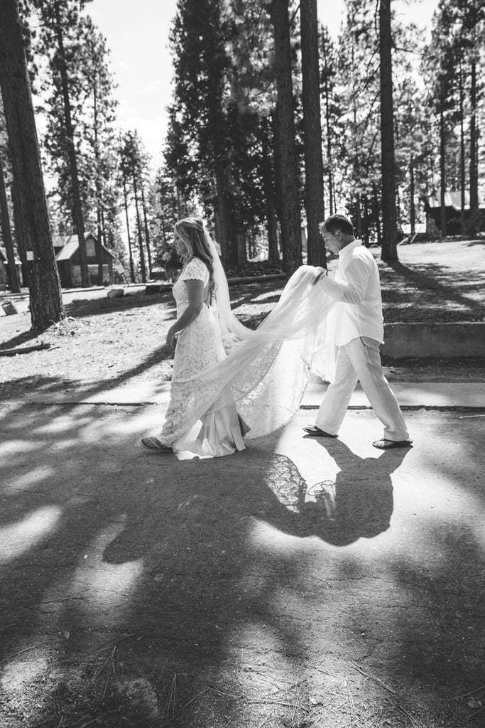 As South Lake Tahoe locals who live, work, and play in the Sierra Nevada town, Jamie and Roger's obvious choice was an outdoor Tahoe wedding. See the wedding here!