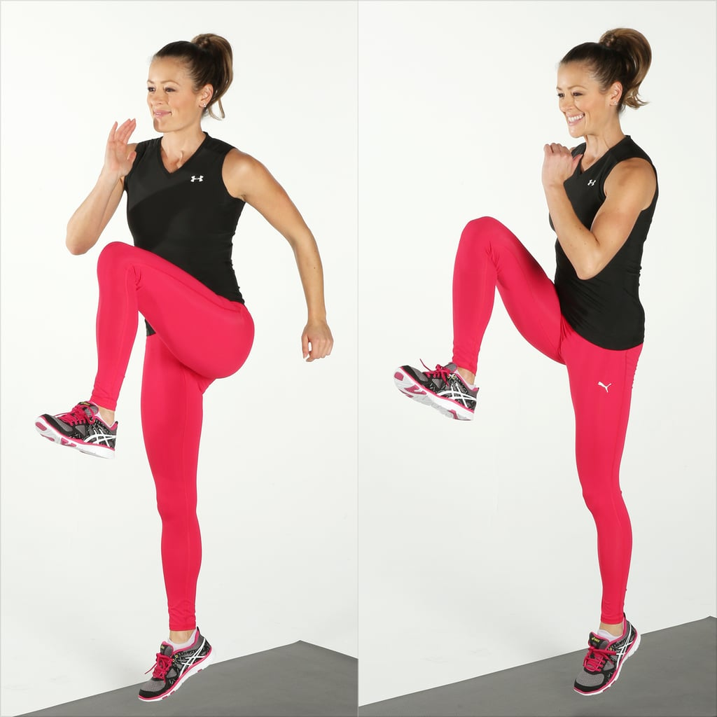 High-Knee Skips | Best Cardio Bodyweight Exercises ...