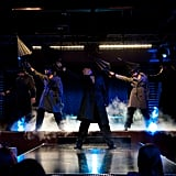 Joe Manganiello, Adam Rodriguez, Channing Tatum, Matt Bomer and Kevin Nash in Magic Mike.