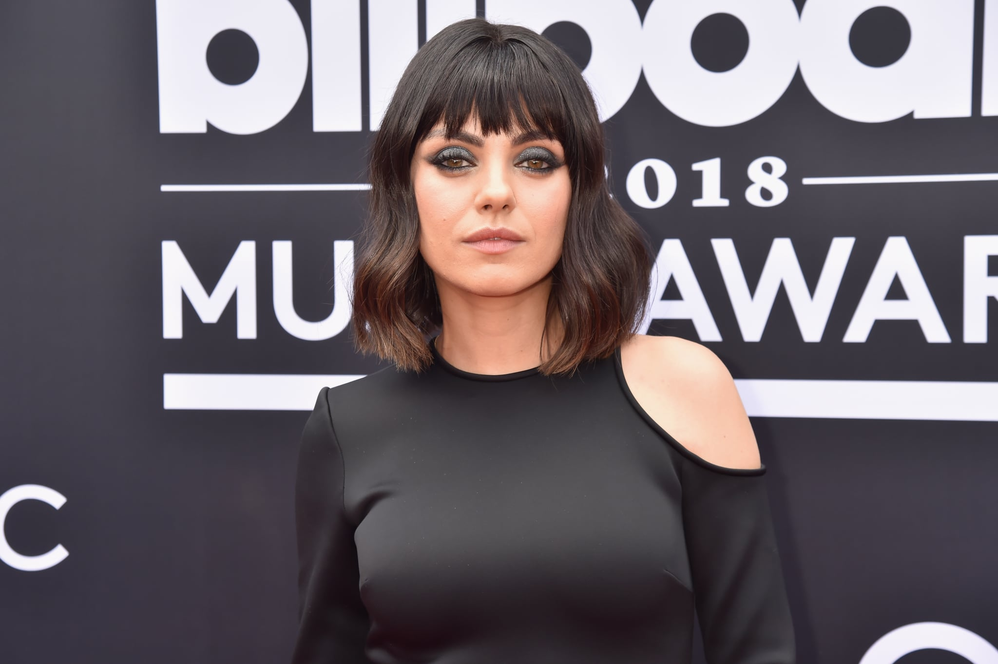 LAS VEGAS, NV - MAY 20:  Actor Mila Kunis attends the 2018 Billboard Music Awards at MGM Grand Garden Arena on May 20, 2018 in Las Vegas, Nevada.  (Photo by Jeff Kravitz/FilmMagic)