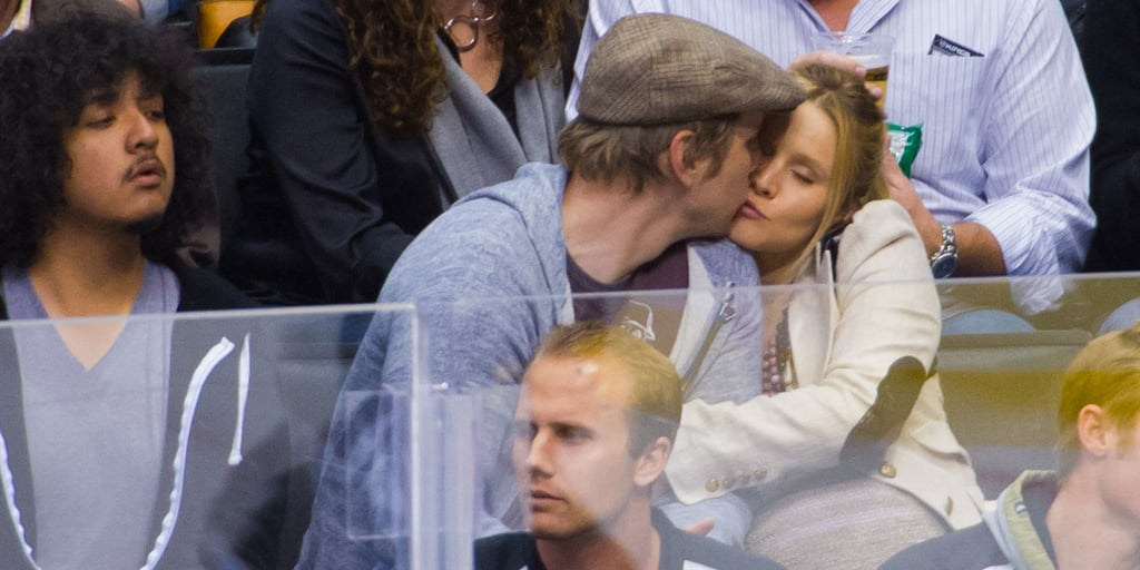 Kristen and Dax Show PDA and Hang With Pals at a Hockey Game