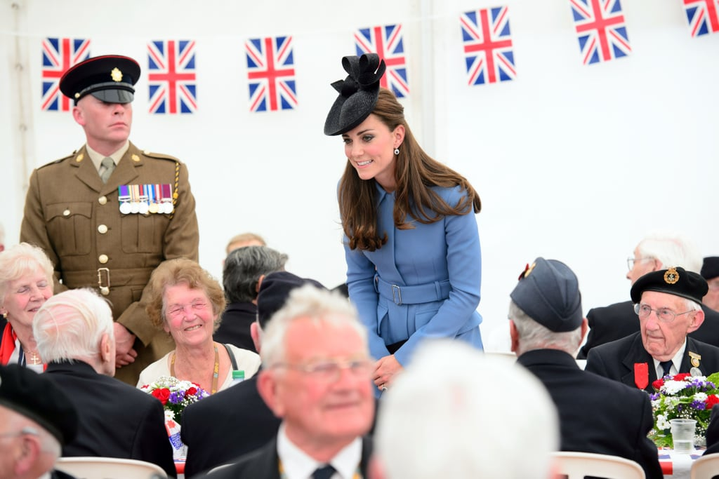 Kate Middleton in Normandy on D-Day Anniversary