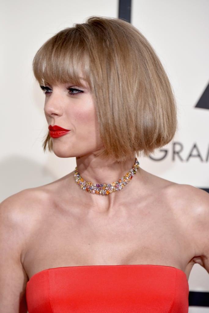 Taylor Swift Haircut Grammy Awards 2016 Popsugar Beauty Photo 4