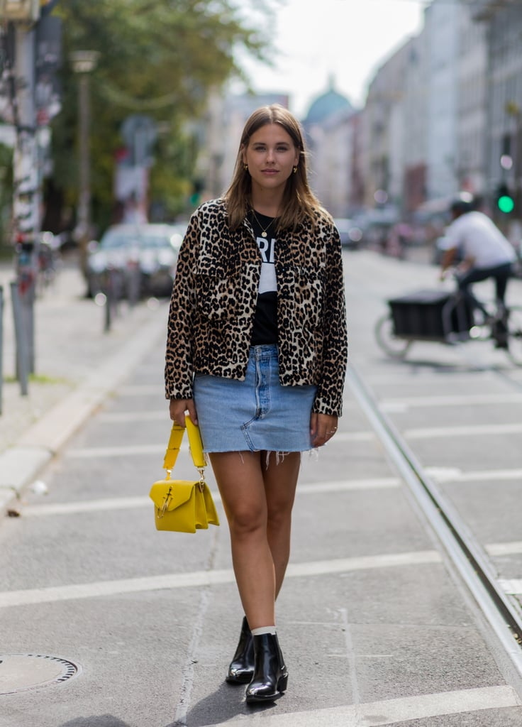 How to Wear a Denim Skirt   POPSUGAR Fashion Australia