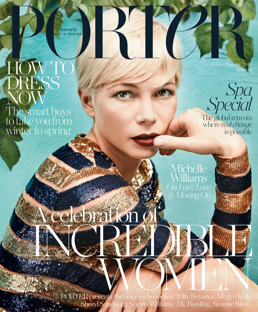 Michelle Williams Interview in Porter Magazine December 2016