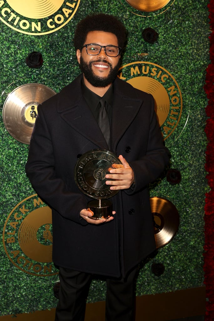 """It's The Weeknd's world and we're just living in it. Ahead of the release of his Showtime documentary, fittingly titled The Show, the 31-year-old musician was honored at the 2021 Music in Action Awards in Los Angeles on Sept. 23. The Weeknd received the Quincy Jones Humanitarian Award for continually using his platform to """"call attention to racial and social injustice and raise awareness globally.""""  """"[N]othing is more important than the people, and giving back is always better than receiving."""" During his speech, The Weeknd got a little emotional as reflected on the first time he met Quincy Jones. """"I actually first met Quincy Jones in Vegas a long time ago,"""" The Weeknd recalled. """"He pulled up to one of my club shows, and when I got off stage, he was waiting on the side. I was so excited to meet him, and there were fans on the other side screaming and trying to get my attention, but I was so focused on him. . . . [Quincy] said, 'Go take pictures, sign autographs, and I'll still be here waiting. They're just more important.' And it stuck with me until this day. He was teaching me a lesson in that moment that nothing is more important than the people, and giving back is always better than receiving."""" The Weeknd has been everywhere lately. In addition to the recent honor, his documentary — which gives fans a behind-the-scenes look at his Super Bowl halftime show performance — premiered on Sept. 24, he's currently gearing up to drop his fifth studio album, and he has a new HBO series on the way. Seriously, is there anything The Weeknd can't do?       Related:                                                                                                                                The Weeknd's """"Take My Breath"""" Ushers in a New Dawn, and We've Never Been More Ready"""