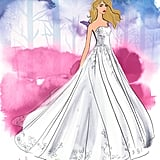 Disney's Aurora Wedding Dress Design — Exclusively at Kleinfeld