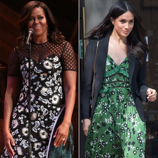 Meghan Markle and Michelle Obama Wearing the Same Designers