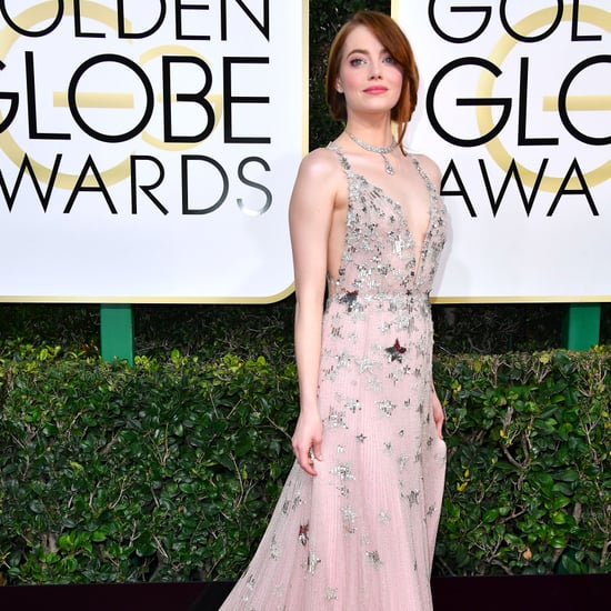 Emma Stone's Valentino Dress at Golden Globe Awards 2017