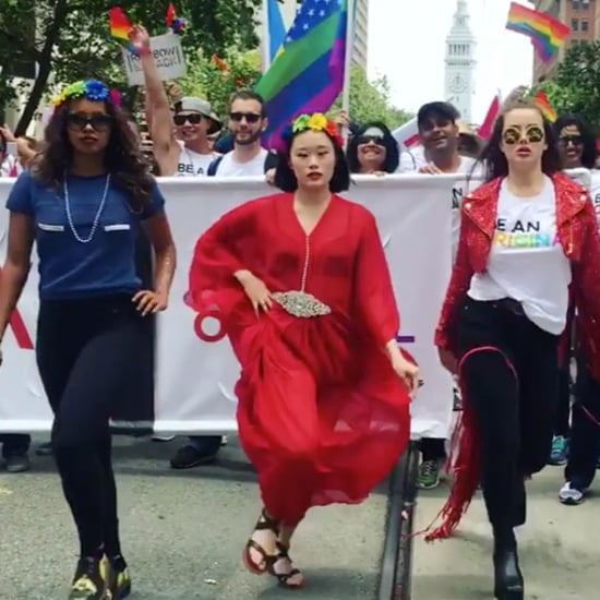 13 Reasons Why Cast at San Francisco Pride Parade 2017