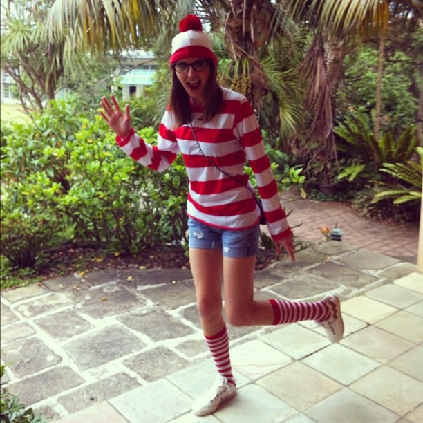 Kate Waterhouse went incognito to the Fairfax staff Christmas party. Source: Instagram user katewaterhouse7