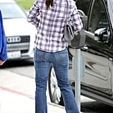 Jennifer Garner Eases Into 39 With a Manicure, Shopping, and a Smile