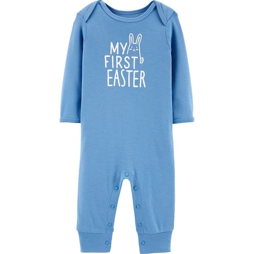 "Baby Boy Carter's ""My First Easter"" Coverall"