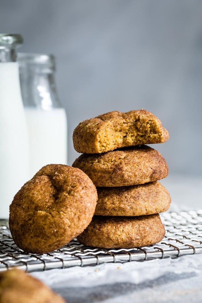Pumpkin Cookies With Walnuts