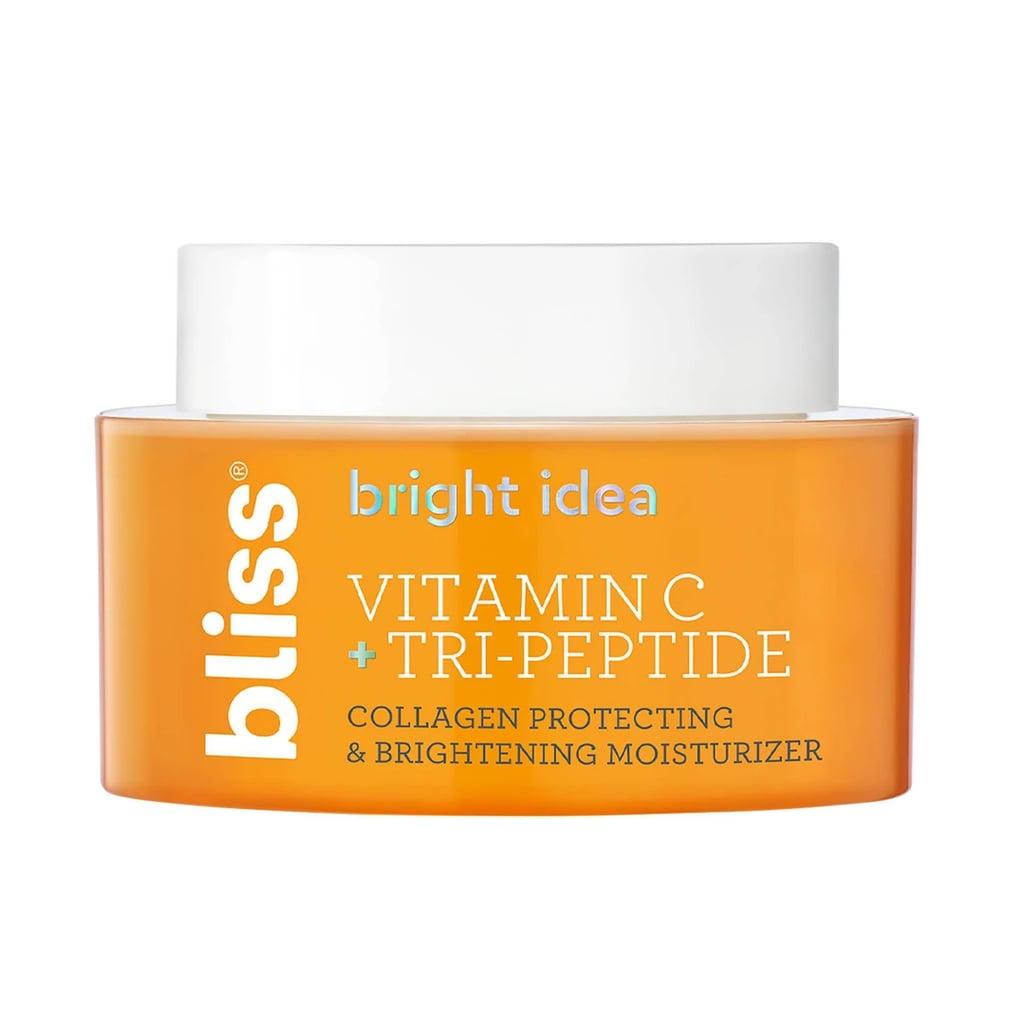 Bliss Bright Idea Vitamin C + Tri-Peptide Collagen Protecting & Brightening Moisturizer