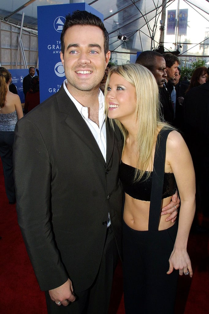 Carson Daly And Tara Reid 2001 Couples At The Grammys