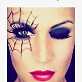 Spiderweb Halloween Makeup Ideas