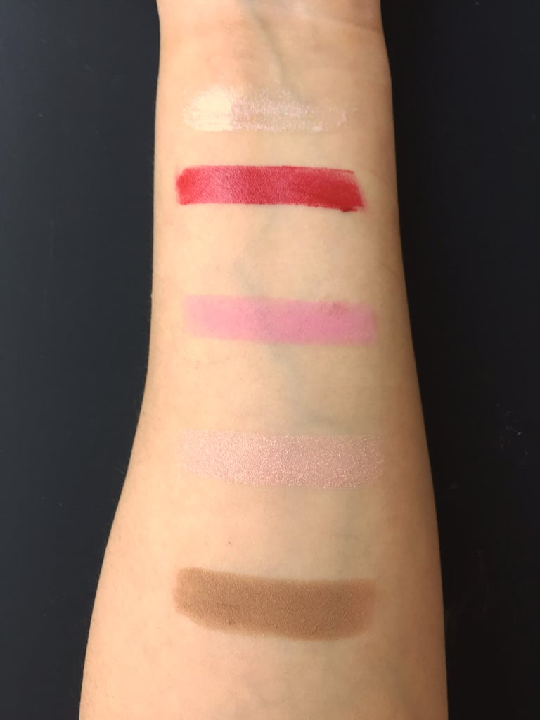 Swatches of the MAC x Steve J & Yoni P Collection