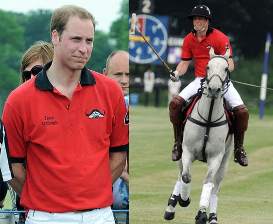 Pictures of Prince William Playing Polo
