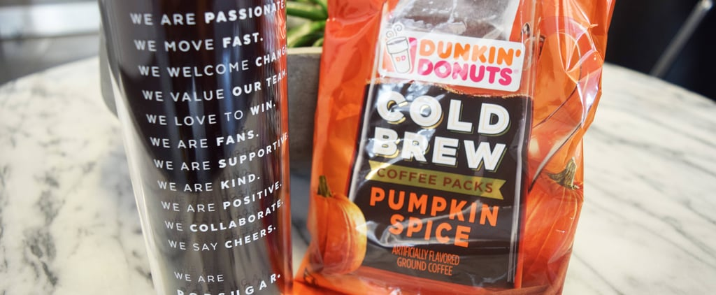 Thanks to Dunkin' Donuts, You Can Make Pumpkin Spice Cold Brew at Home