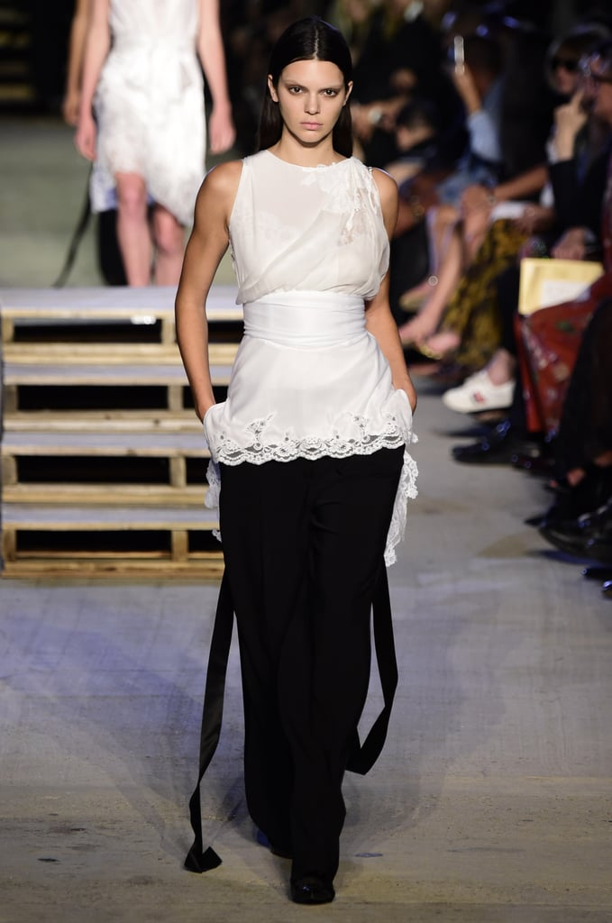 Kendall Jenner Walked the Runway Along With the Rest of the Givenchy Gang