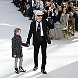 Karl Lagerfeld Took His Bow