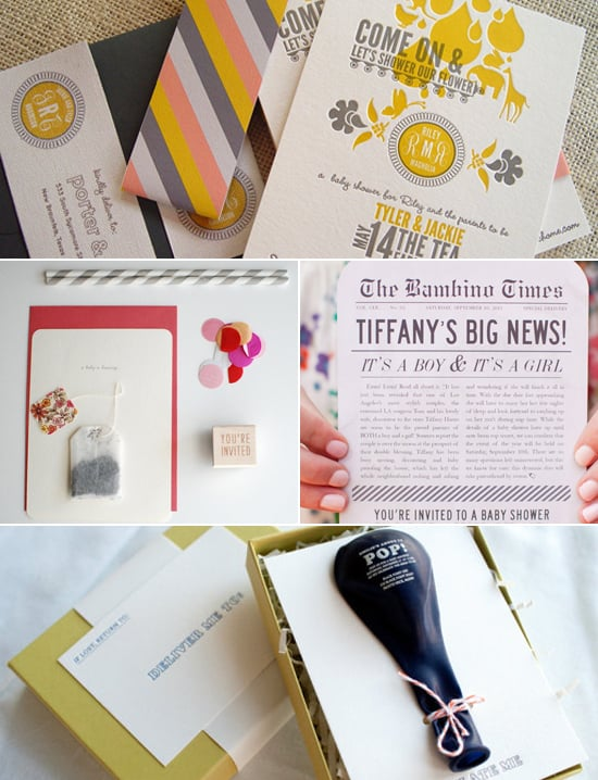Perfect Invitation Inspiration! 20 Creative Baby Shower Invites