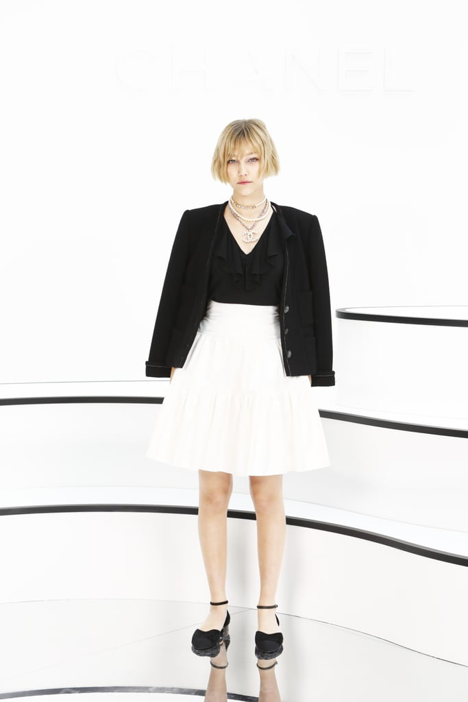 Grace Vanderwaal at the Chanel Fall 2020 Show