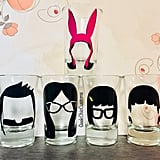 Belcher Family Shot Glasses