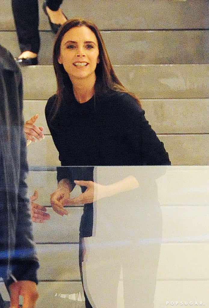 Victoria Beckham Smiling Photos Popsugar Celebrity