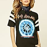 Forever 21 Def Leppard Graphic Tee ($16)