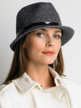 Fab Finger Discount: Banana Republic Tweed Fedora