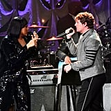 Jazmine Sullivan and Rob Thomas