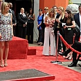 Photos of Jennifer Aniston at Hollywood Handprint Ceremony