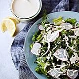 Salad With Lemon Tahini Dressing