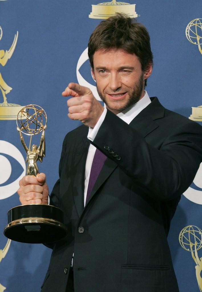 Hugh Jackman at the 2005 Emmy Awards
