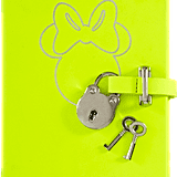 This neon yellow diary (available online 11/14) from the Barneys X Disney Electric Holiday collection is perfect for the thoughtful friend.