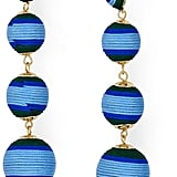 Aqua Margot Ball Drop Earrings