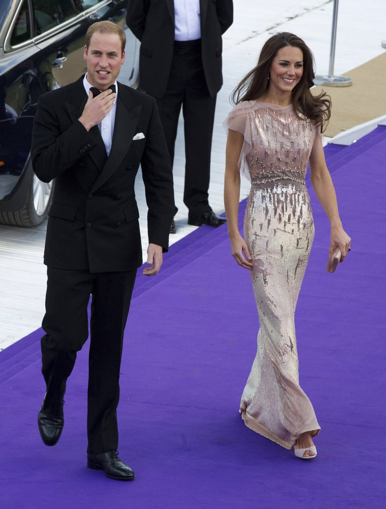 Kate Middleton and Prince William went black-tie for the ARK 10th anniversary dinner in London in June 2011.