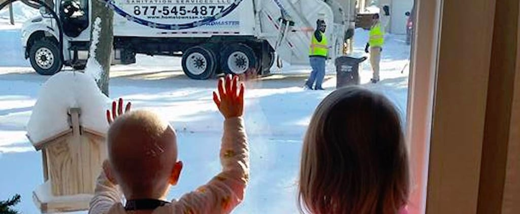 After Waving to the Same Kids Every Week, 2 Garbage Men Received a Heartbreaking Note